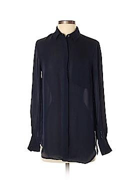 J. Crew Long Sleeve Silk Top Size 2