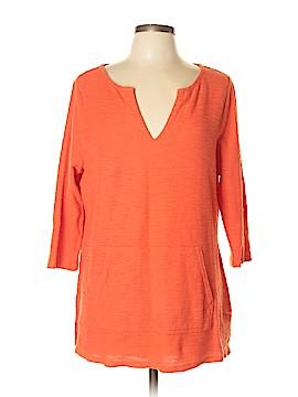 Liz Claiborne 3/4 Sleeve Top Size L