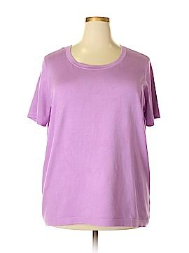 Jones New York Collection Silk Pullover Sweater Size 3X (Plus)
