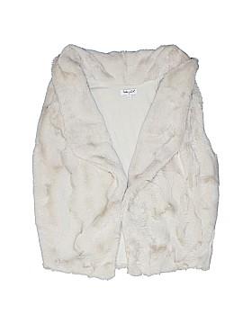 Splendid Faux Fur Vest Size 10