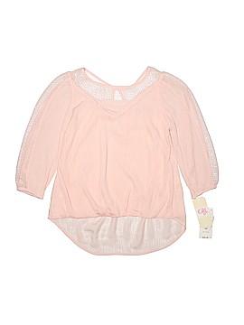 GB Girls Short Sleeve Blouse Size M (Kids)
