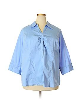 Lane Bryant 3/4 Sleeve Blouse Size 26 - 28 Plus (Plus)