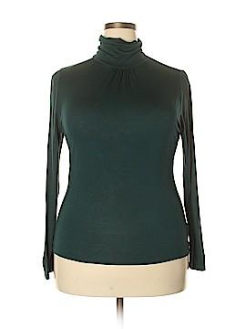 August Silk Long Sleeve Turtleneck Size XL