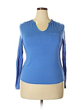 Liz Claiborne Long Sleeve Top Size XL (Petite)