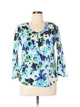 Liz Claiborne Long Sleeve Blouse Size L