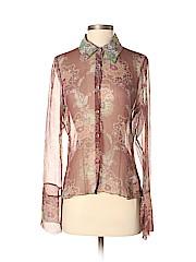 JW Los Angeles Long Sleeve Silk Top
