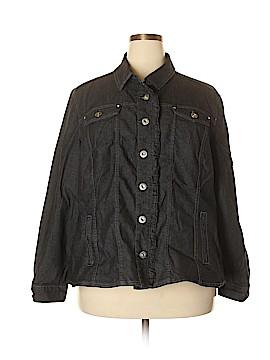 Avenue Denim Jacket Size 26 (Plus)