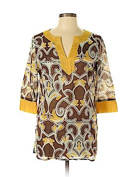 Merona 3/4 Sleeve Blouse Size L