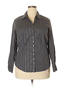 H&M Long Sleeve Button-Down Shirt Size 20 (Plus)