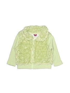 Little Lass Faux Fur Vest Size 12 mo