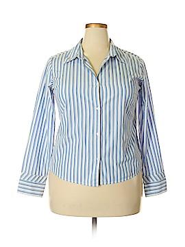 ALC ATLAST CLASSICS Long Sleeve Button-Down Shirt Size XL