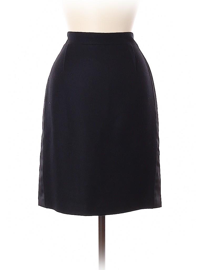 BCBGMAXAZRIA Women Wool Skirt Size 8