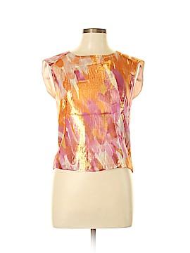 Max Mara Sleeveless Silk Top Size Med (2)