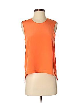 Cut25 by Yigal Azrouël Sleeveless Silk Top Size 0