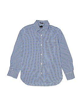 Crewcuts Long Sleeve Button-Down Shirt Size 10