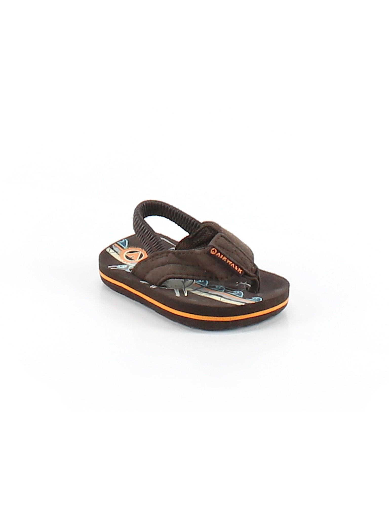 276ab8ee9d5e7 Airwalk Solid Brown Flip Flops Size 1 - 44% off