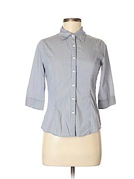 Papaya 3/4 Sleeve Button-Down Shirt Size M