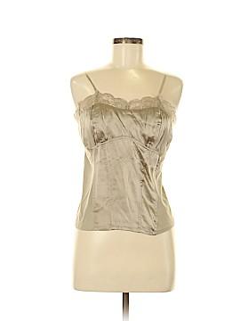 AK Anne Klein Sleeveless Silk Top Size M