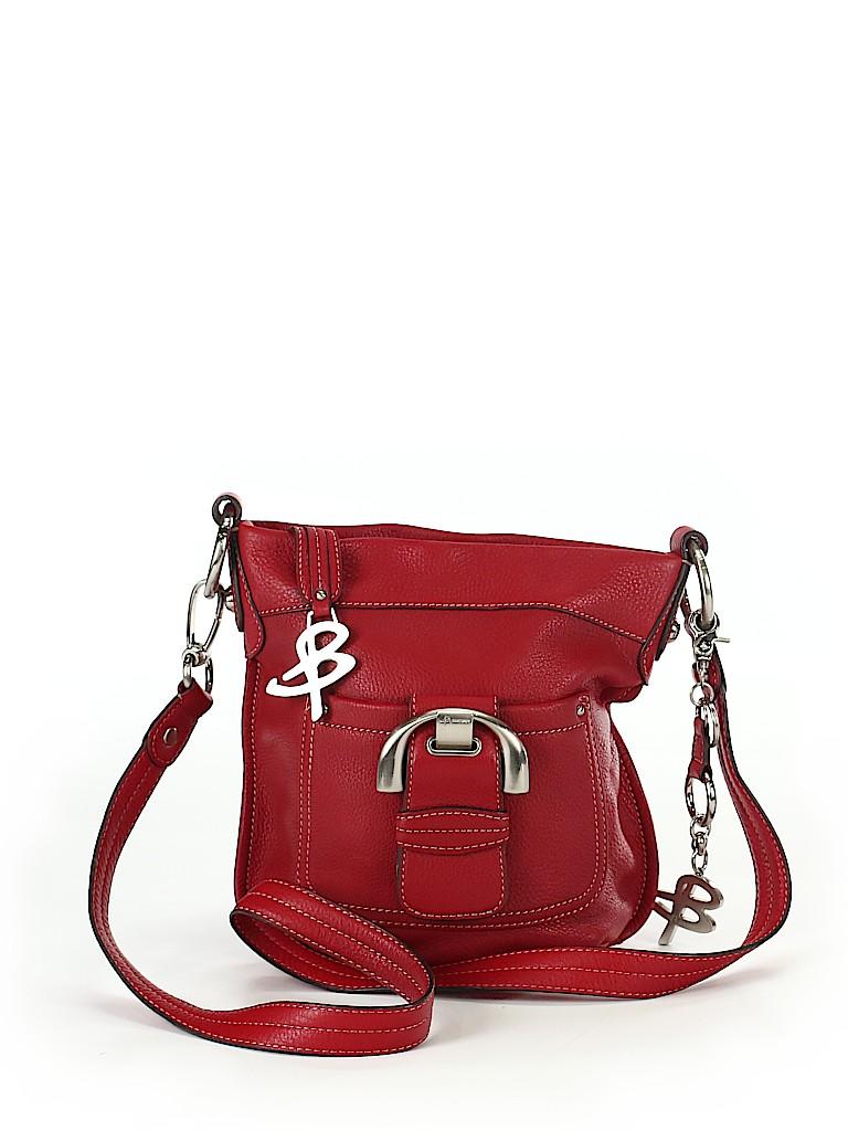 Pin It B Makowsky Women Leather Crossbody Bag One Size