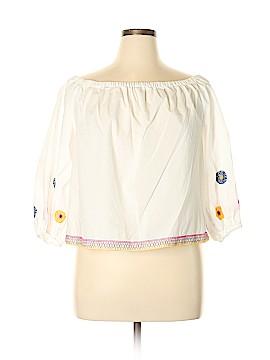 Madewell 3/4 Sleeve Blouse Size XL