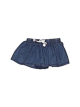 Cat & Jack Denim Skirt Size 3-6 mo