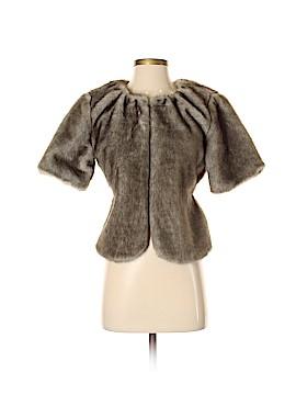 Simply Vera Vera Wang Faux Fur Jacket Size XS