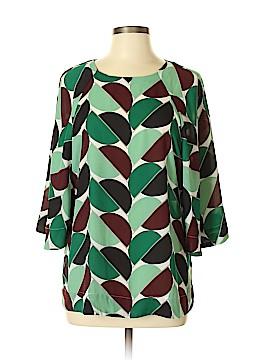 Ann Taylor Short Sleeve Blouse Size L