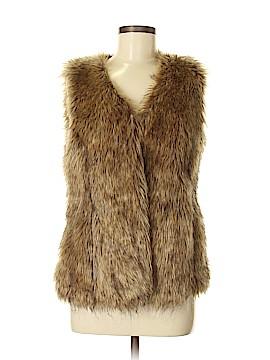 L-RL Lauren Active Ralph Lauren Faux Fur Vest Size S