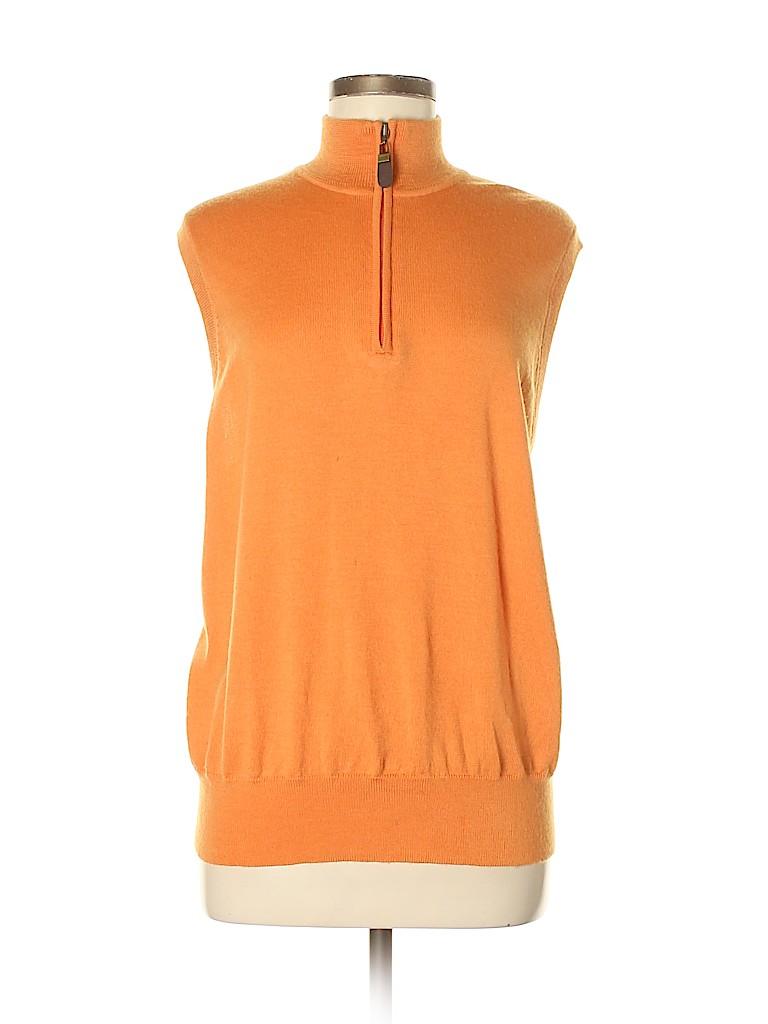 Orvis Women Wool Pullover Sweater Size M