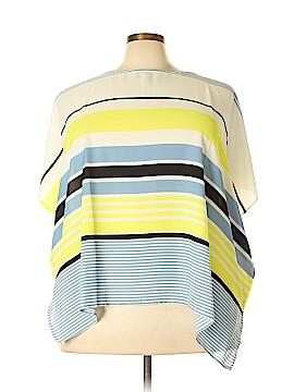 Lane Bryant Short Sleeve Blouse Size 22 (Plus)