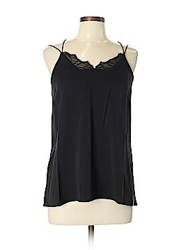 Halston Heritage Sleeveless Silk Top Size M