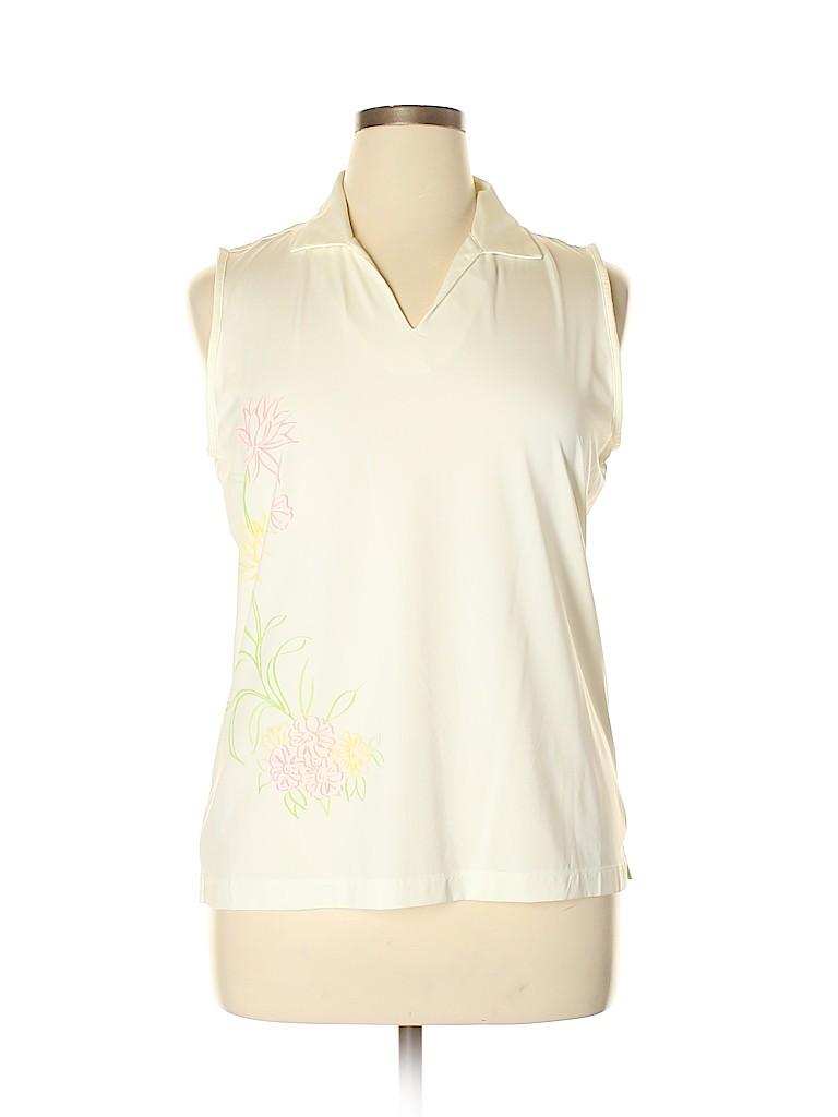EP Pro Women Sleeveless Polo Size XL