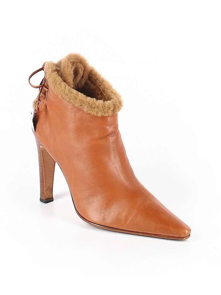 Manolo Blahnik Women Ankle Boots Size 41 (EU)
