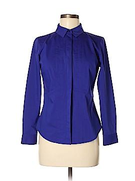 Worthington Long Sleeve Button-Down Shirt Size M (Petite)