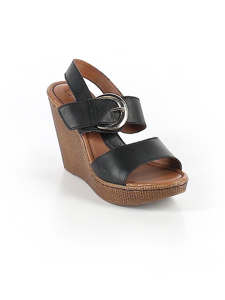426d33a8fd37 B O C Born Concepts Black Wedges Size 8 - 70% off