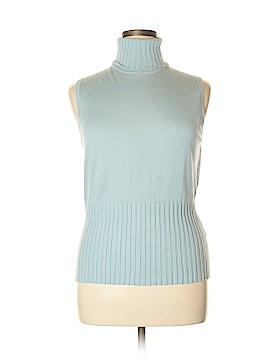 Ellen Tracy Silk Pullover Sweater Size XL