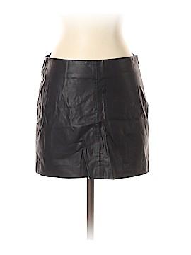 Trafaluc by Zara Faux Leather Skirt Size S