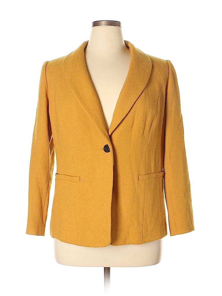 Lafayette 148 New York Women Wool Blazer Size 14