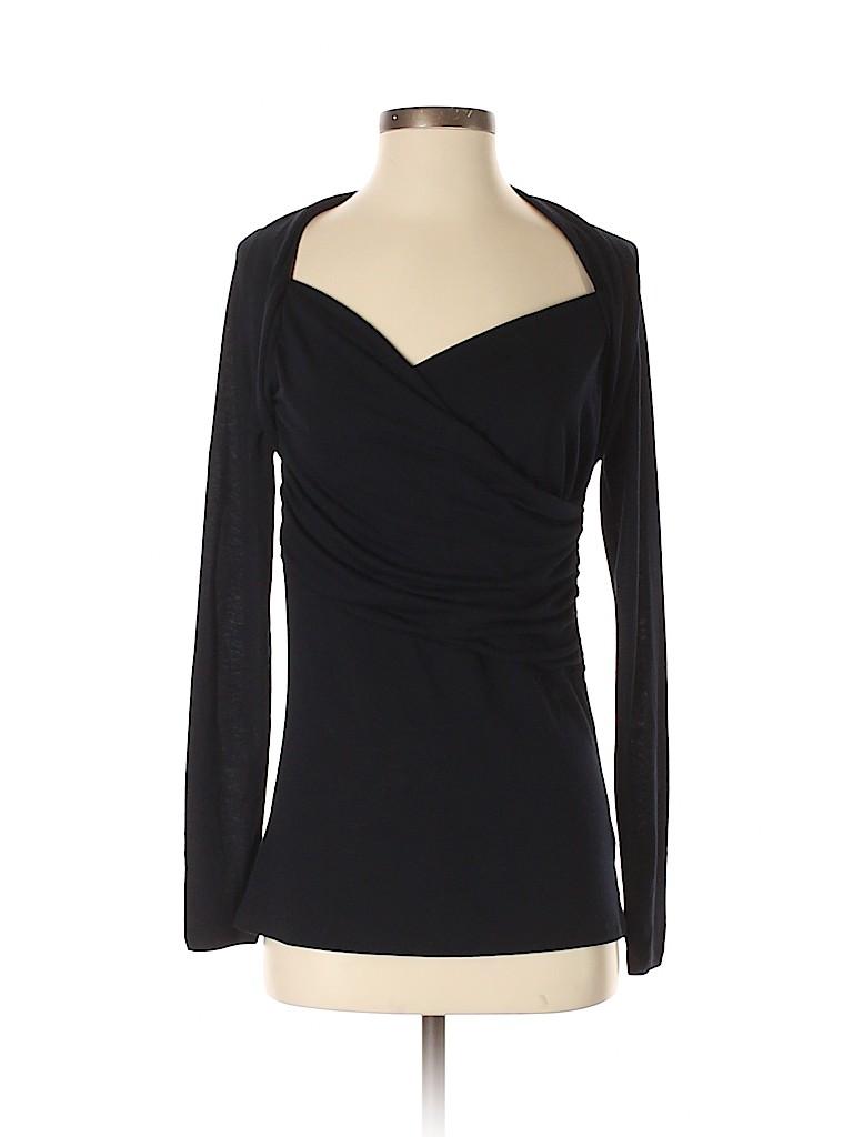 Allison Brittney Women Long Sleeve Top Size S