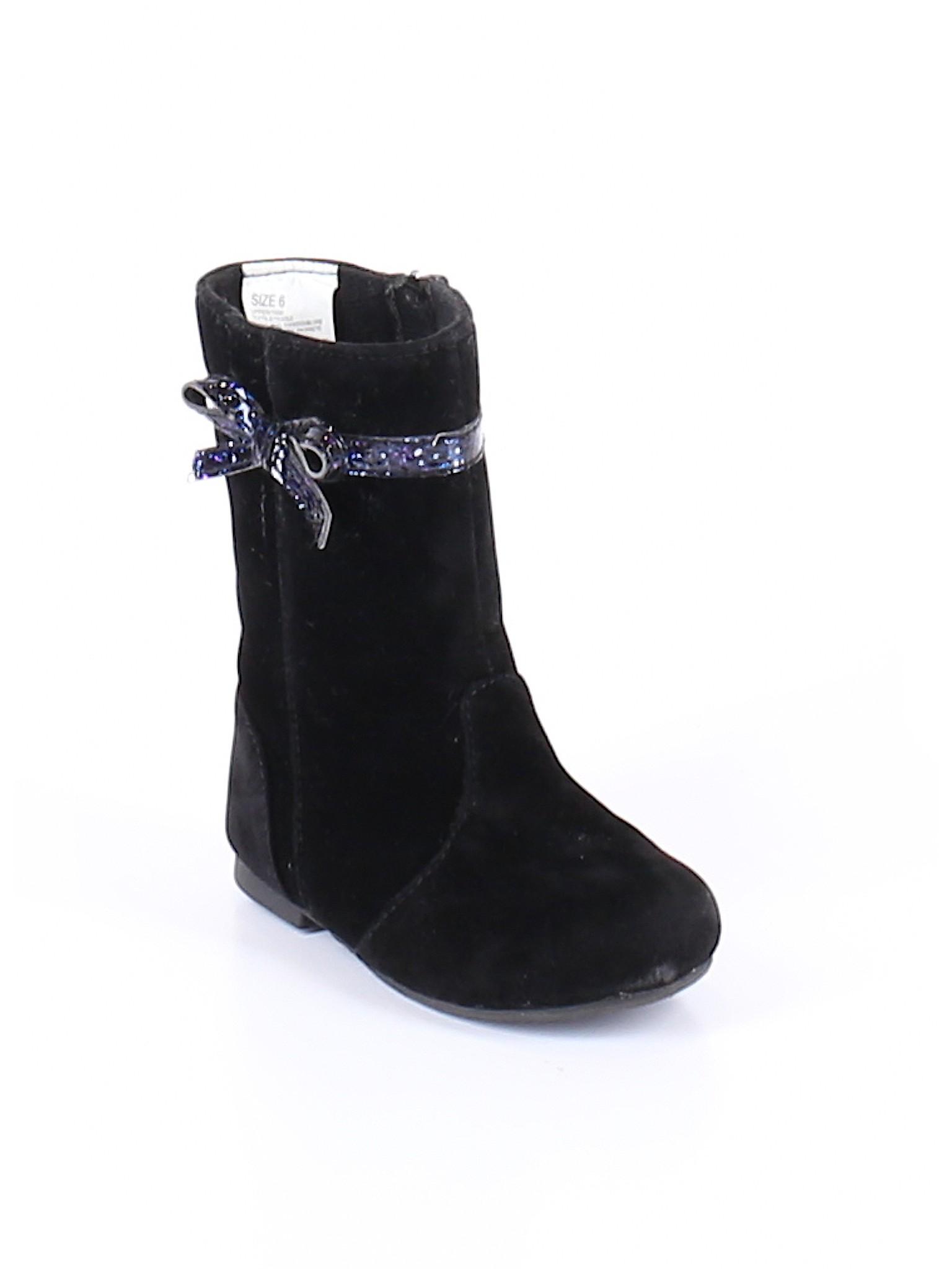 Gymboree Solid Black Boots Size 6 77 Off Thredup