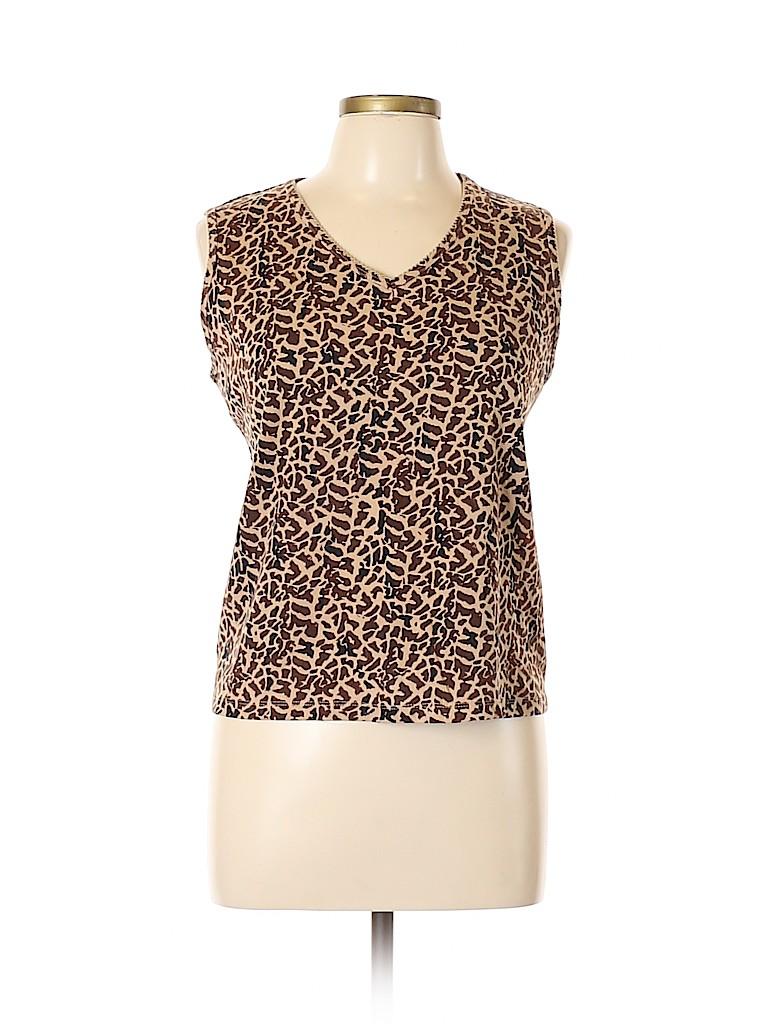 Croft & Barrow Women Sleeveless T-Shirt Size XL