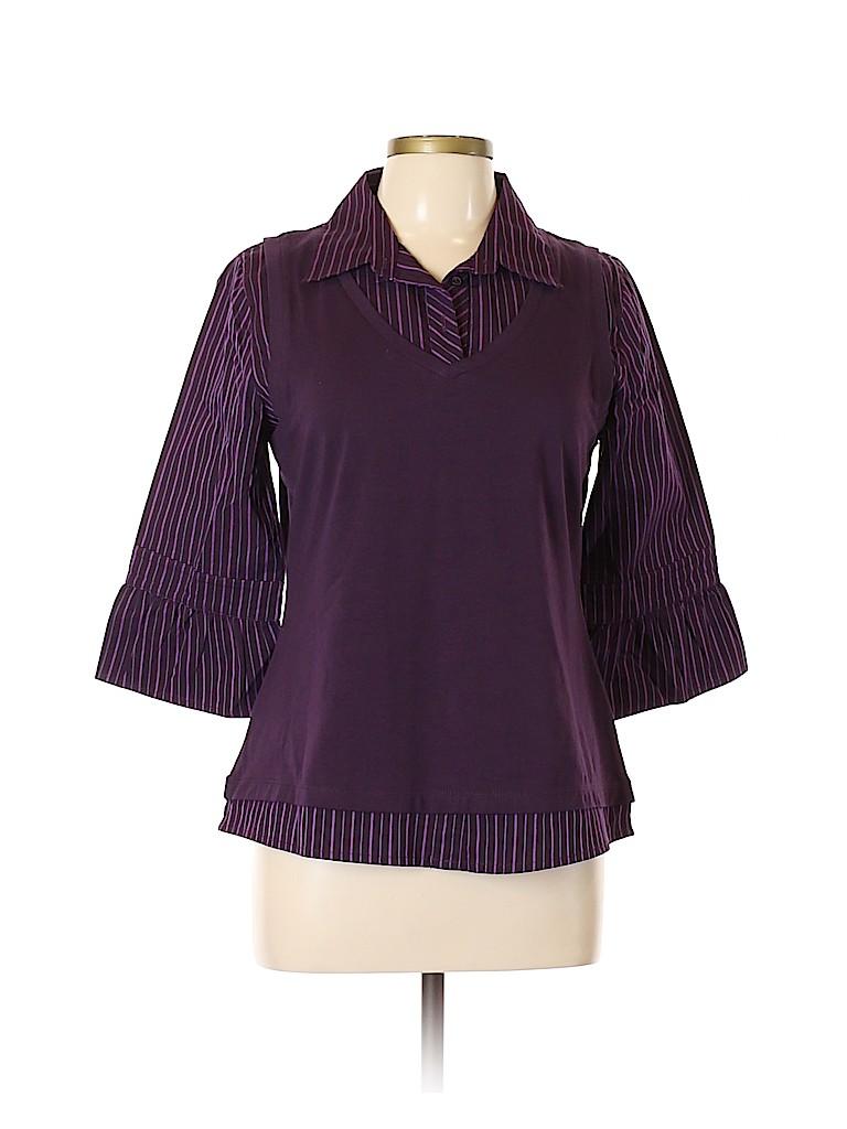 Gitano Women Long Sleeve Top Size XL