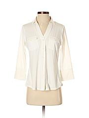 J. McLaughlin 3/4 Sleeve Button-down Shirt