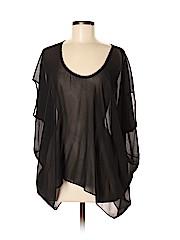 Helmut Short Sleeve Silk Top