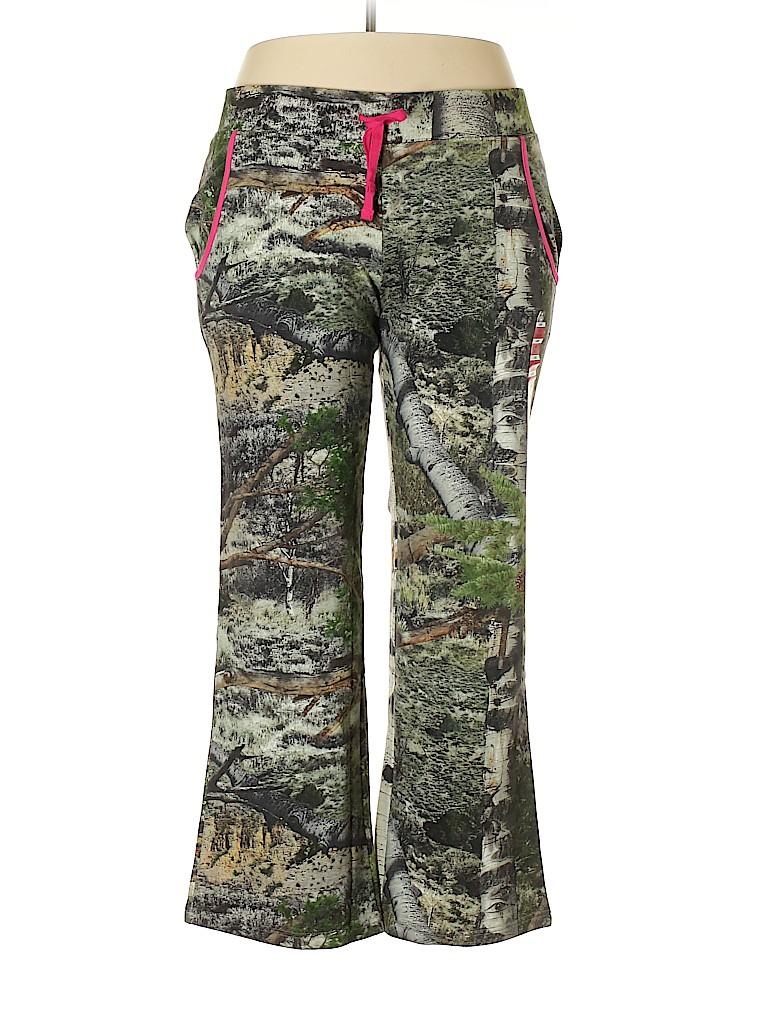 3f40dc67aa3d6 Mossy Oak 100% Cotton Camo Green Sweatpants Size 20 (Plus) - 53% off ...