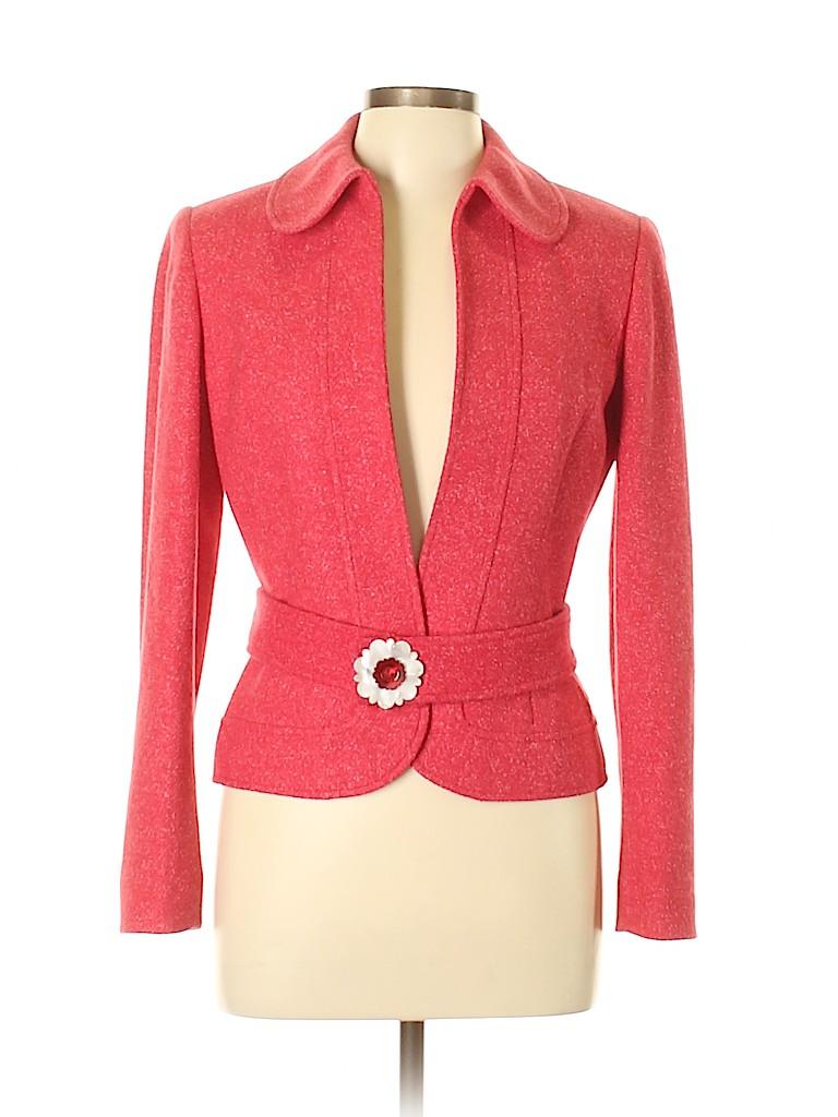Etcetera Women Wool Blazer Size 8