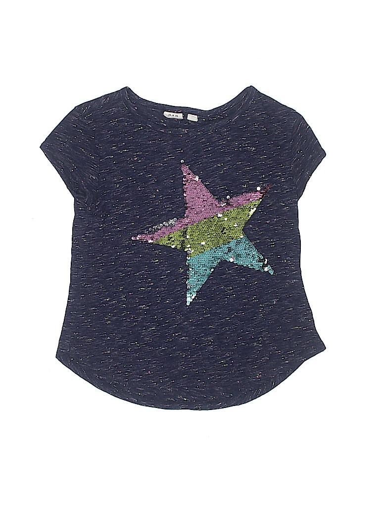 5db70d7fcfc1 Gap Kids Graphic Stars Dark Blue Short Sleeve T-Shirt Size 6 - 7 ...