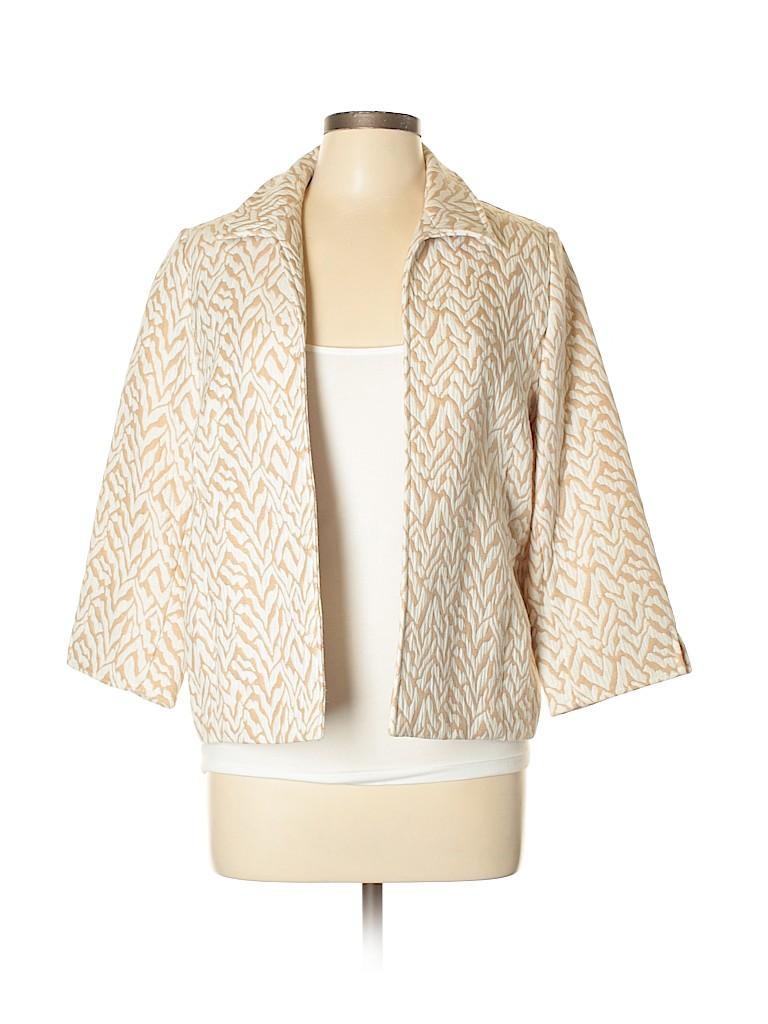 Alfred Dunner Women Jacket Size 10 (Petite)