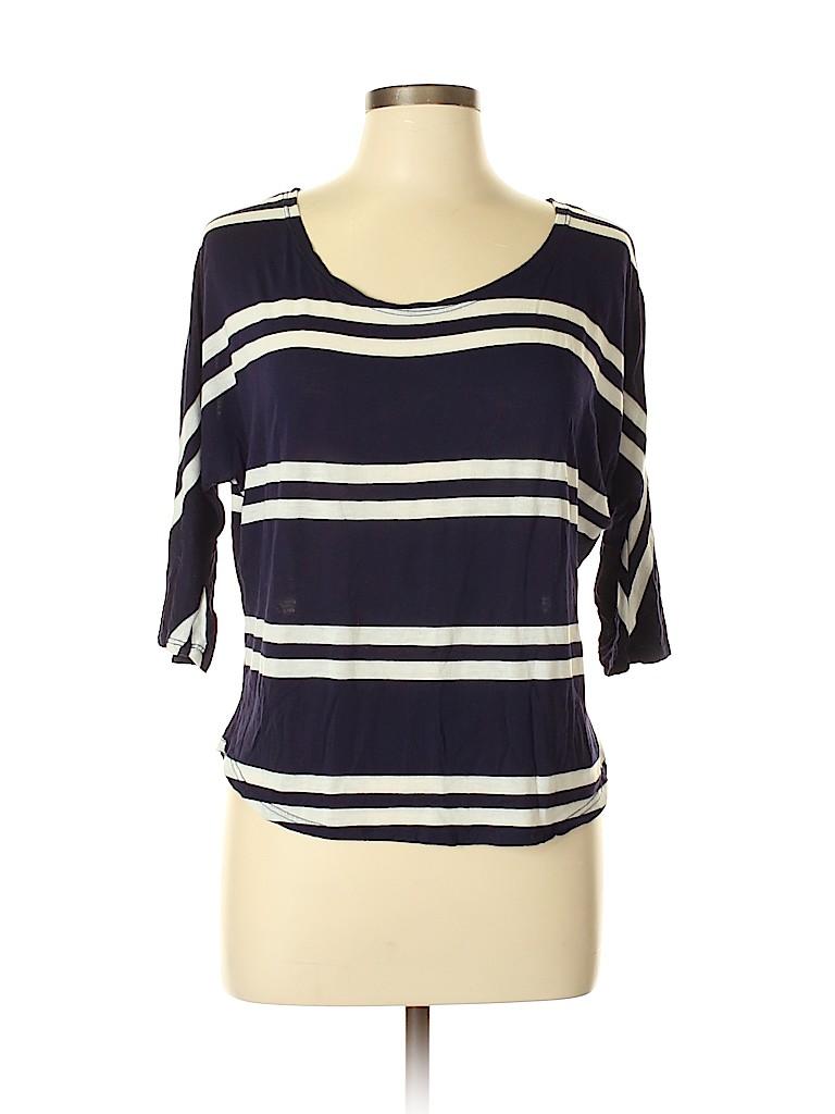 JW (JW Style) Women 3/4 Sleeve Top Size L