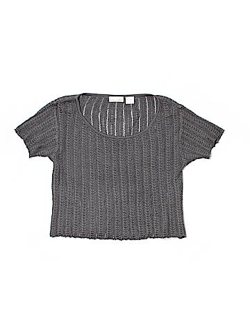 Maura Daniel Short Sleeve Silk Top Size S